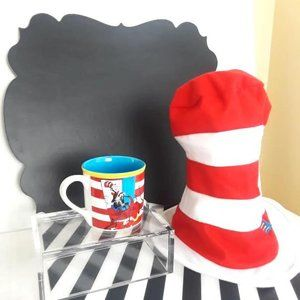 Dr. Seuss Cat in the Hat Mug and Hat Bundle